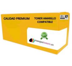 TONER COMPATIBLE HP CC532A. COLOR AMARILLO Nº304A. PREMIUM