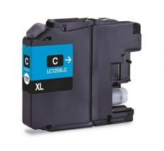 Compatible Tinta BROTHER LC125XL V3 Cyan