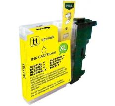 Compatible Tinta BROTHER LC-1100 Amarillo.