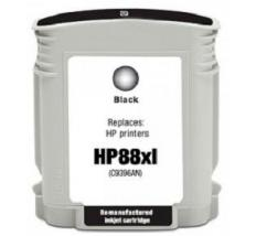 CARTUCHO Compatible PREMIUM HP 88 XL BK C9396A.