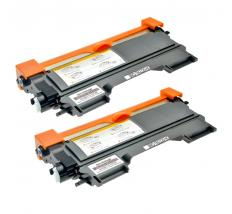 Compatible Pack 2 x Toner BROTHER TN2220 / TN2210 / TN450 Negro