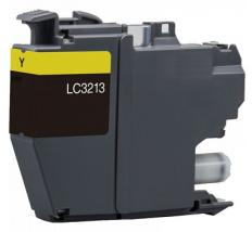 Compatible Tinta BROTHER LC3213 / LC3211 Amarillo LC-3213Y / LC-3211Y