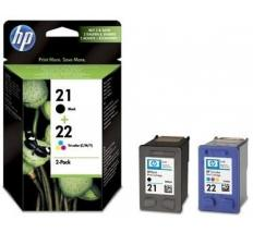 HP 21 NEGRO + 22 TRICOLOR MULTIPACK ORIGINAL SD367AE