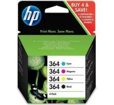 HP 364 VALUE PACK ORIGINAL 4 CARTUCHOS SD534EE