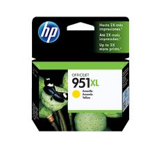 HP 951XL AMARILLO CARTUCHO DE TINTA ORIGINAL