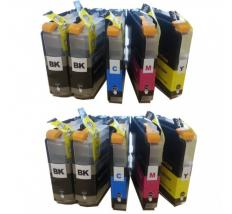 Compatible Pack 10 x Tinta BROTHER LC123XL V3
