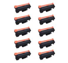 Compatible Pack 10 x Toner Brother TN2420 / TN2410 - Alta Capacidad (Con Chip - Última Actualización V2)