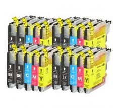 Compatible Pack 20 x Tinta Brother LC985 XL