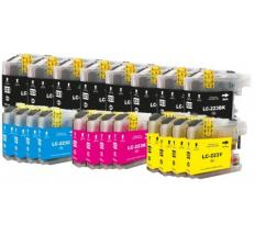 Compatible Pack 20 x Tinta BROTHER LC223 / LC221 V3