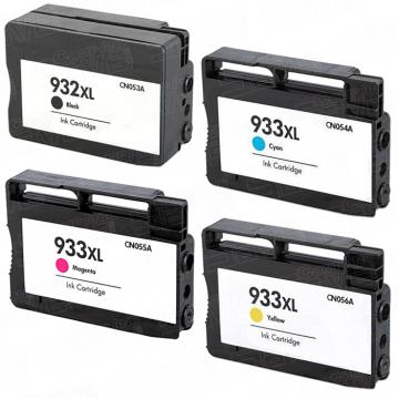 Compatible Pack 4 x Tinta HP 932XL / 933XL