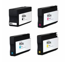 Pack 4 x Tinta Compatible HP 950XL / HP 951XL