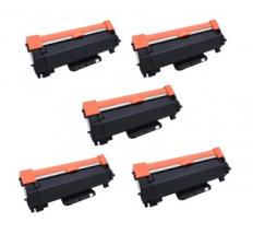 Compatible Pack 5 x Toner Brother TN2420 TN2410 - Alta Capacidad (Con Chip - Última Actualización V2)