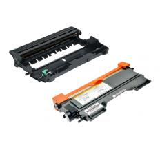 Compatible Pack 5 x Toner + Tambor Brother TN2220 + DR2200