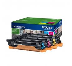 PACK TONER BROTHER TN243CMYK 4 COLORES