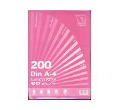PAPEL 80 GR. A-4 200-H CLIPPER LISO BLANCO