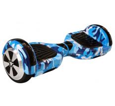 "Q7 Patin Electrico Hoverboard 6.5"" Azul"