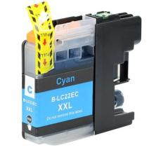 Compatible Tinta BROTHER LC22UC Cyan