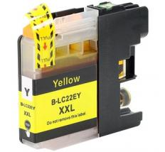 Compatible Tinta BROTHER LC22UY Amarillo