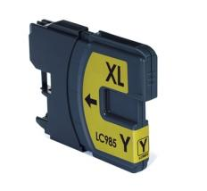 Compatible Tinta Brother LC985 XL Amarillo